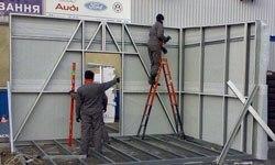 Строительство торговых павильонов в Самаре БМЗ