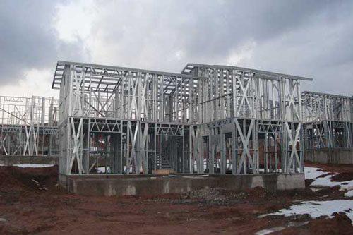 Здания на основе облегчённого металлического каркаса в Самаре